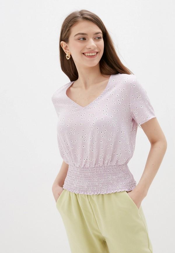 Блуза Befree фиолетового цвета
