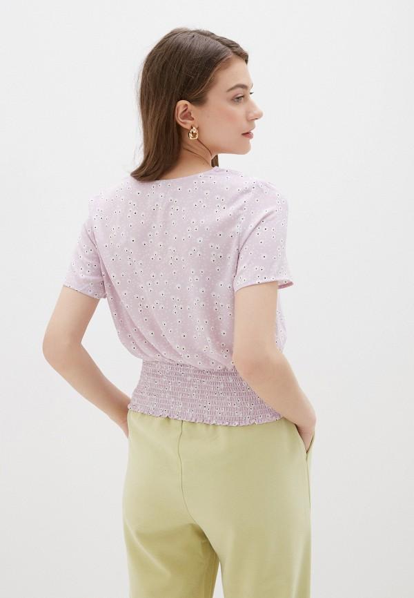 Фото 3 - Женскую блузку Befree фиолетового цвета