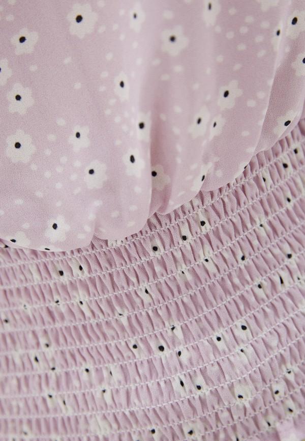Фото 4 - Женскую блузку Befree фиолетового цвета