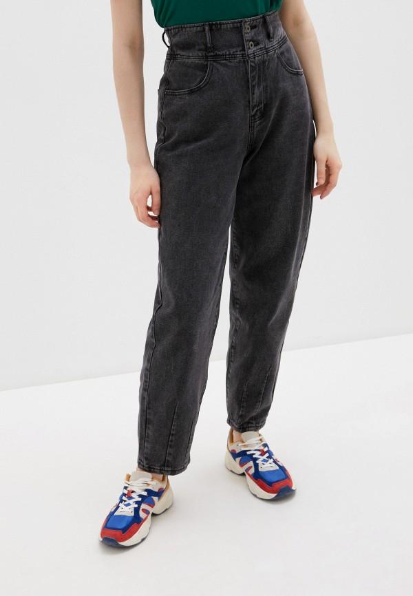 женские джинсы бойфренд befree, серые
