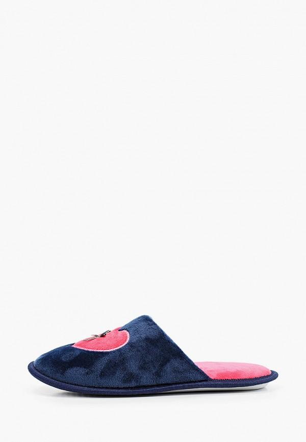 женские тапочки t.taccardi, синие