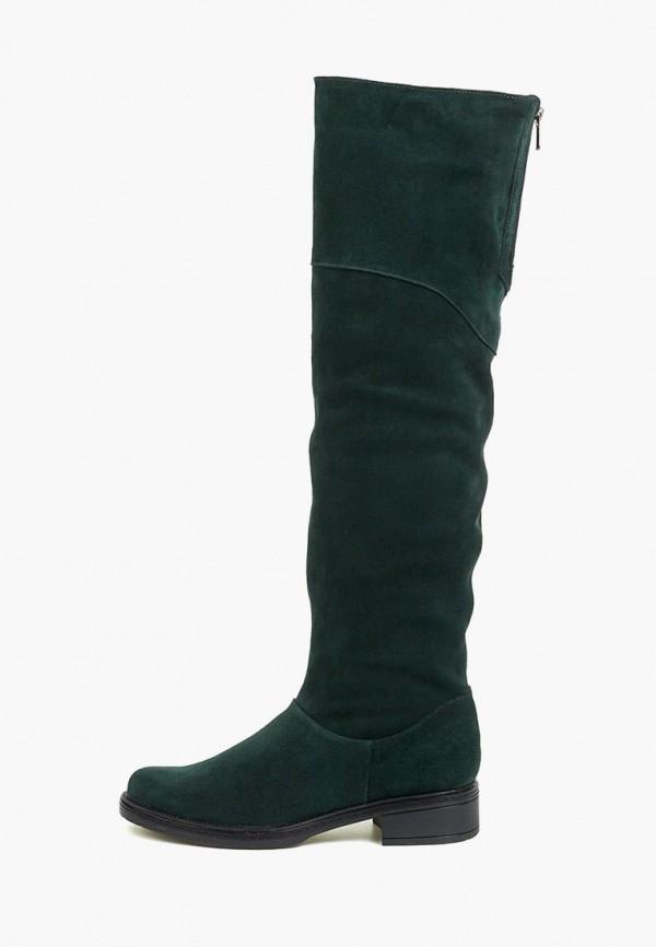 женские ботфорты tops, зеленые