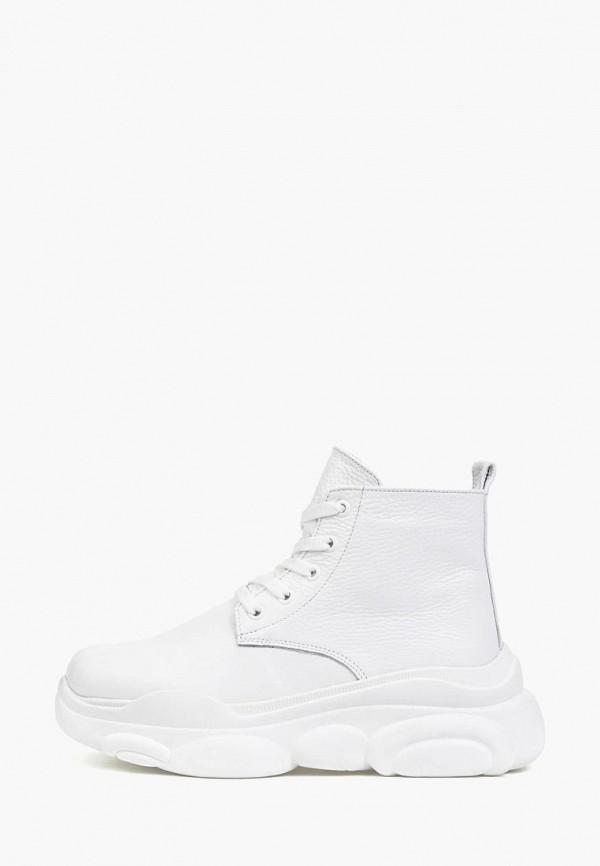женские ботинки tops, белые
