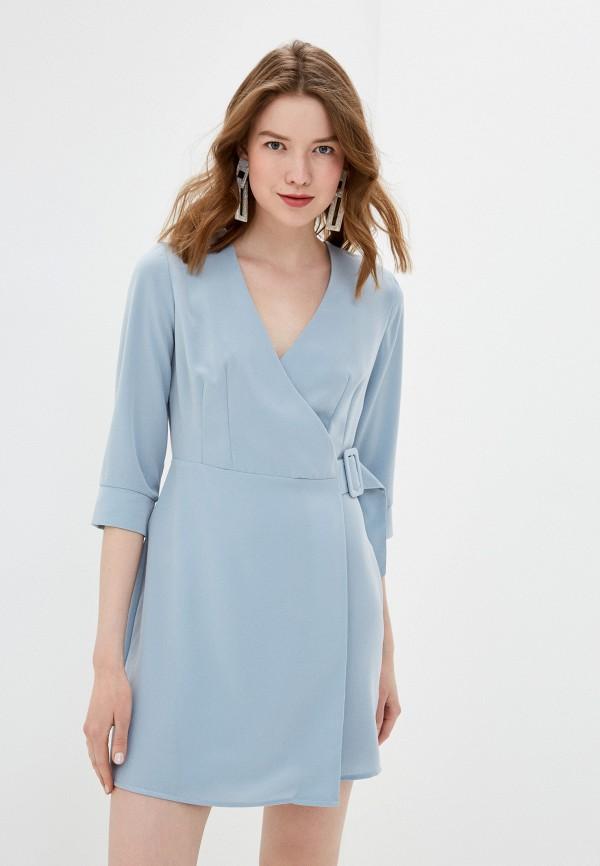 Фото - Женское платье Befree голубого цвета