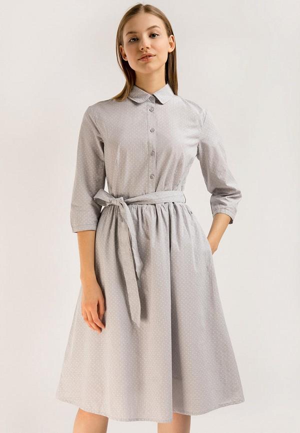 Платье Finn Flare серого цвета