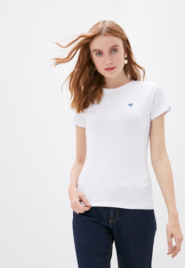 женская футболка viserdi, белая