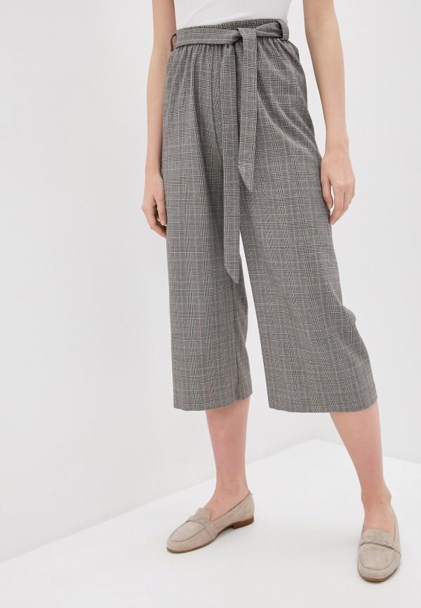 женские брюки кюлоты viserdi, серые