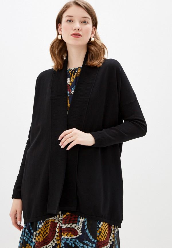 женский кардиган wool studio, черный