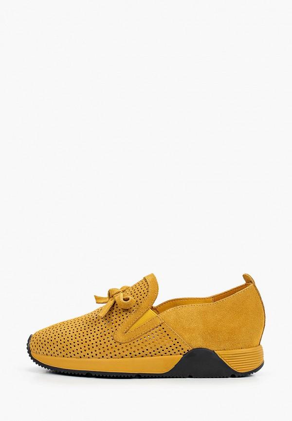 женские низкие кроссовки graciana, желтые