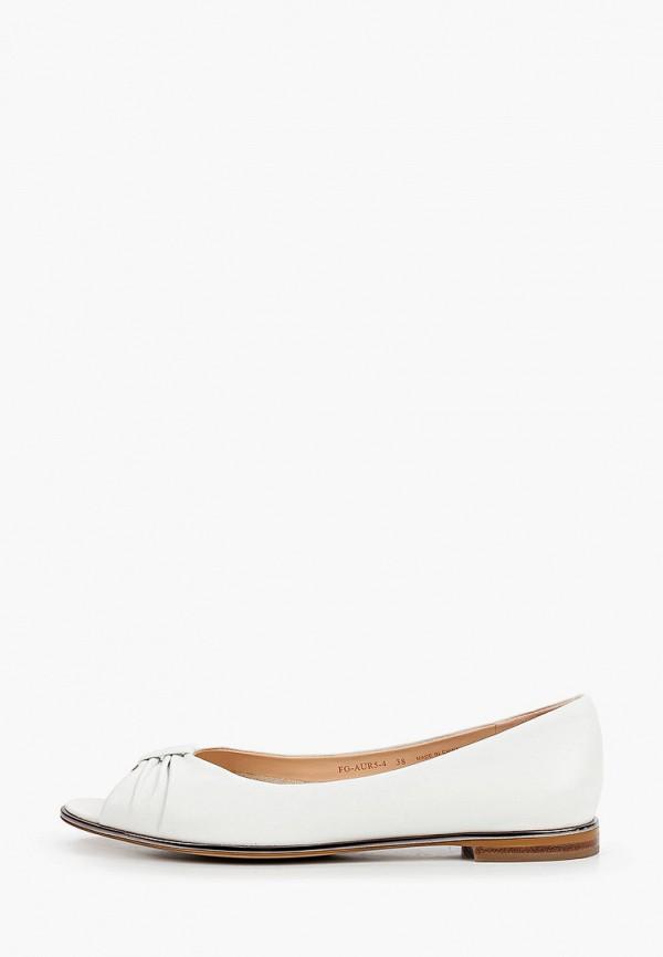 женские туфли с открытым носом pazolini, белые