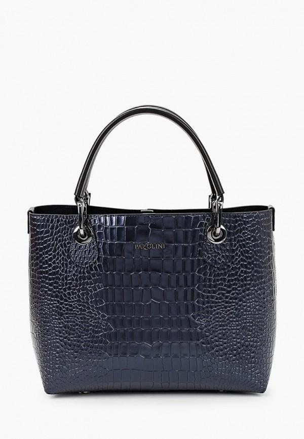 женская сумка-шоперы pazolini, синяя