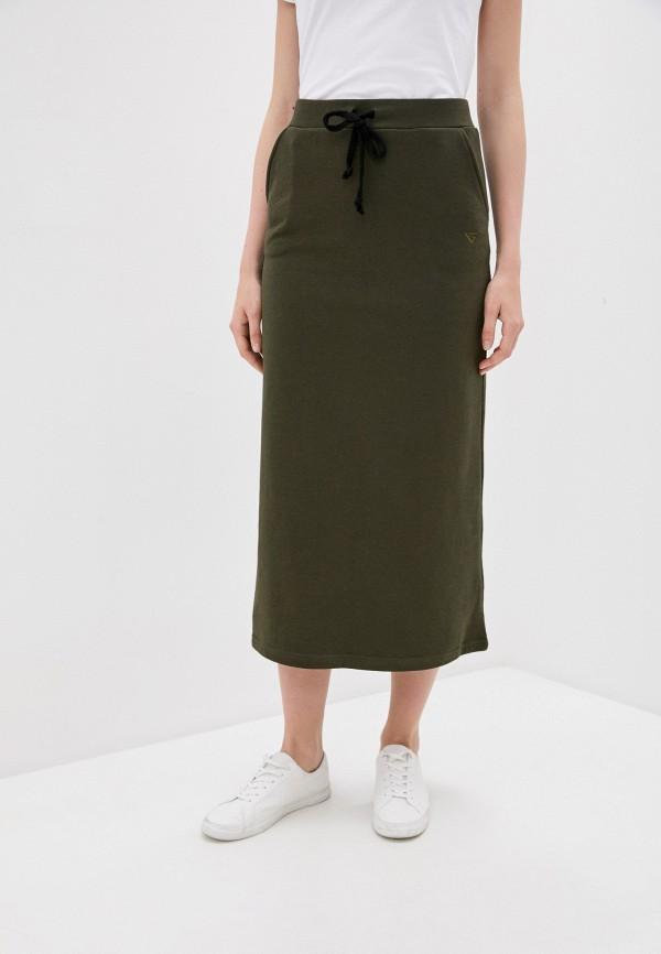 женская прямые юбка viserdi, хаки