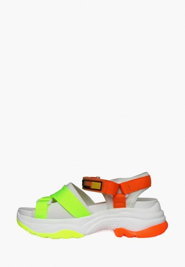 женские сандалии belletta, белые