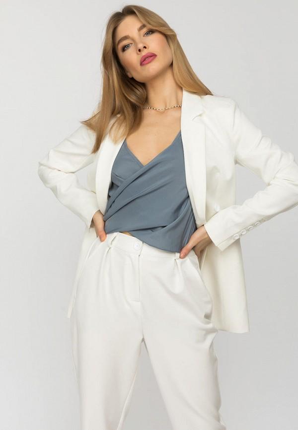 женский пиджак gloss, белый