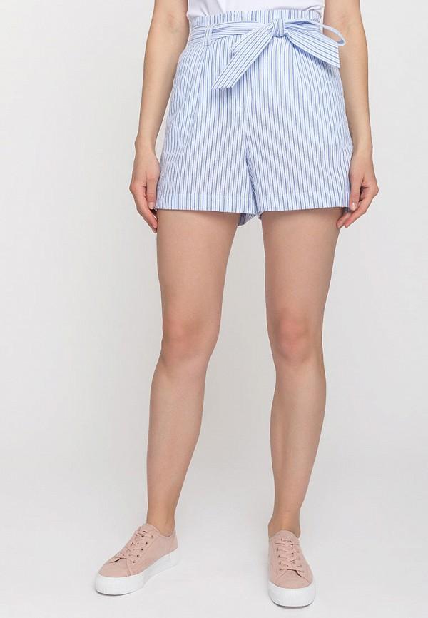 женские повседневные шорты gloss, голубые
