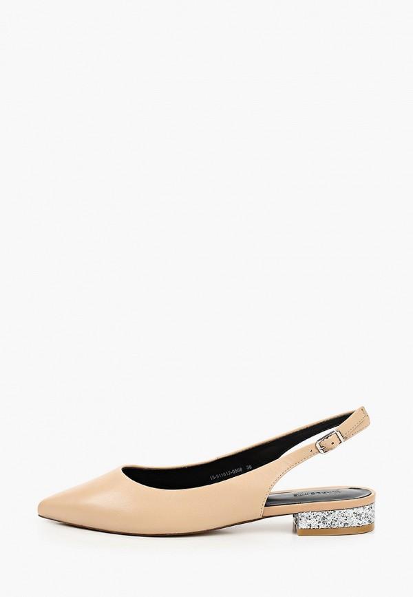 женские туфли mascotte, бежевые