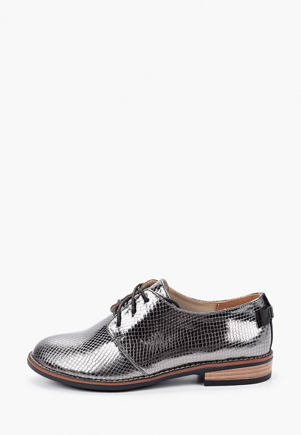 женские низкие ботинки mascotte, серебряные