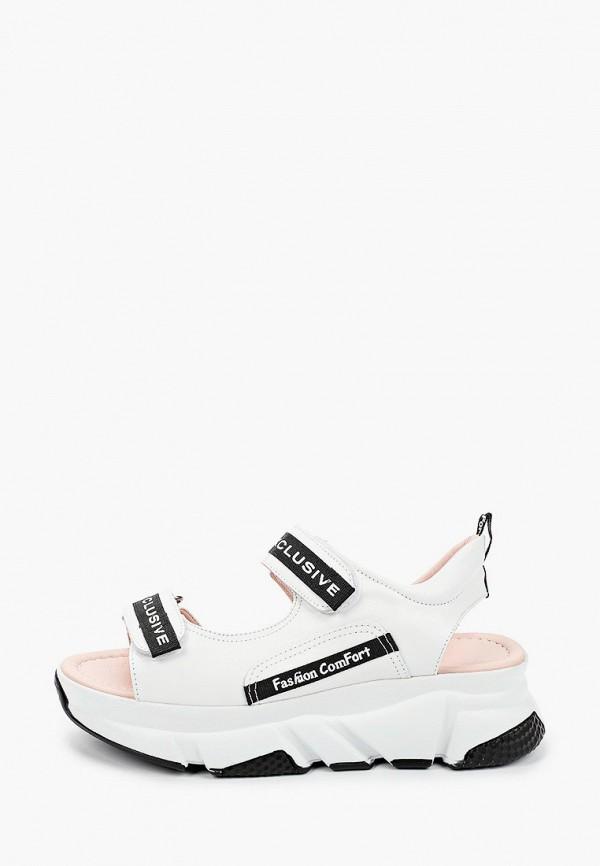 женские сандалии emanuele gelmetti, белые
