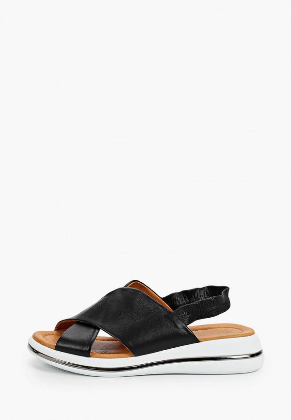 женские сандалии emanuele gelmetti, черные
