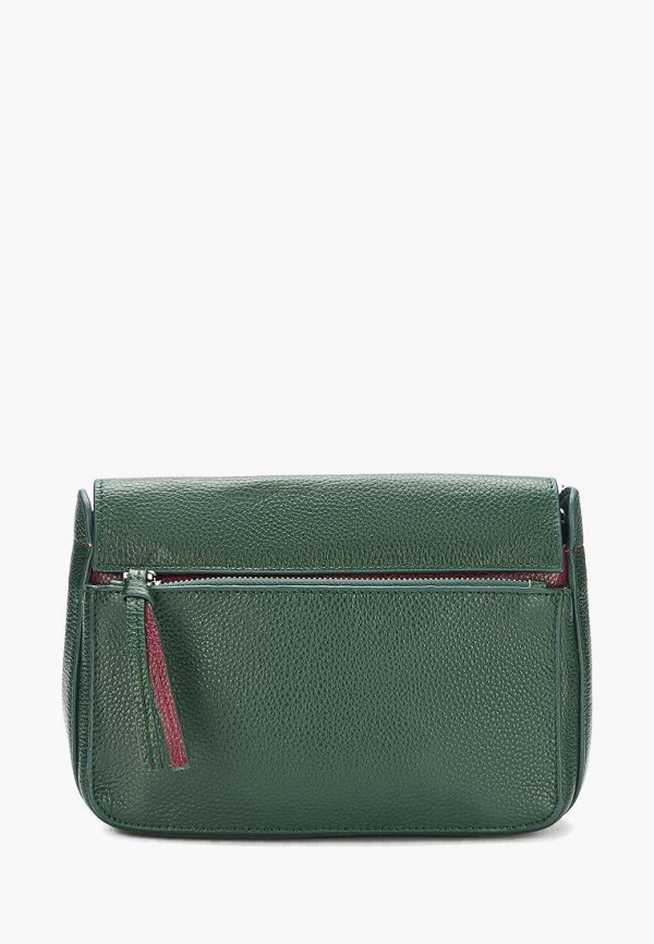 женская сумка через плечо jane's story, зеленая