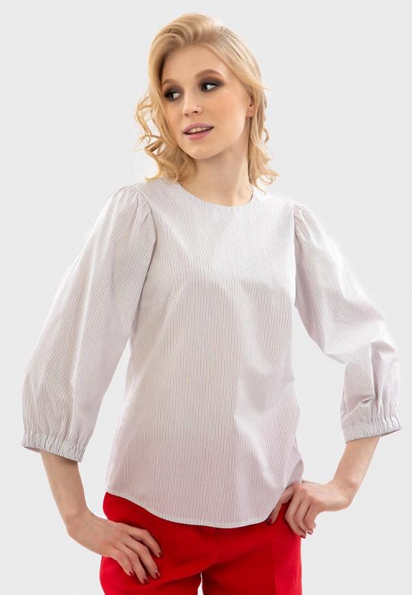 женская блузка с длинным рукавом энсо, белая