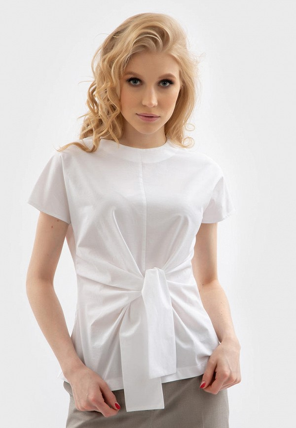 женская блузка энсо, белая