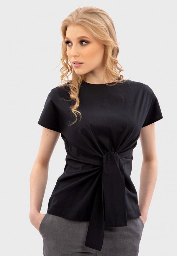 женская блузка энсо, черная