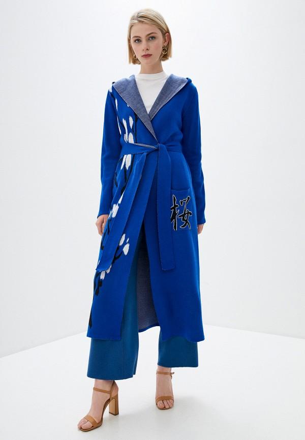 женский кардиган ksi ksi, синий