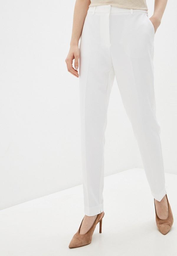 женские повседневные брюки zarina, белые
