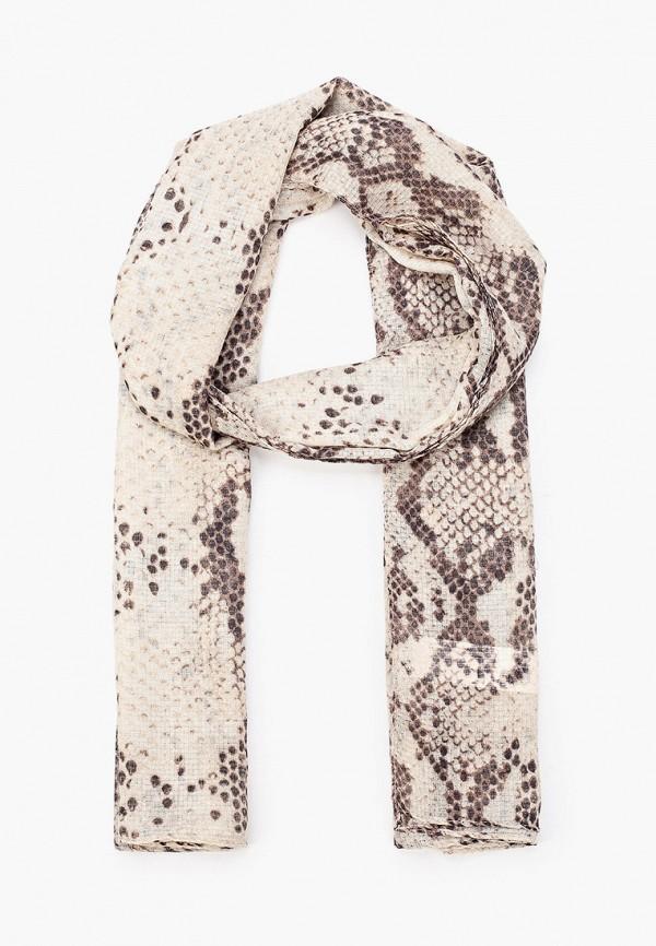 женский шарф zarina, бежевый