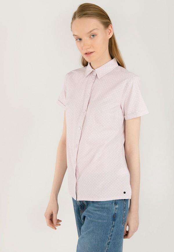 Рубашка Finn Flare розового цвета