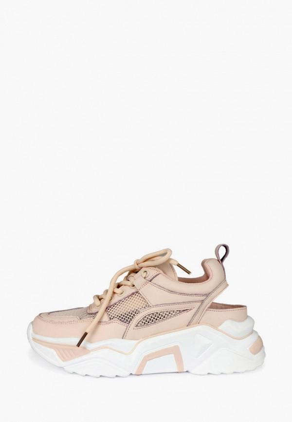 женские кроссовки belletta, розовые