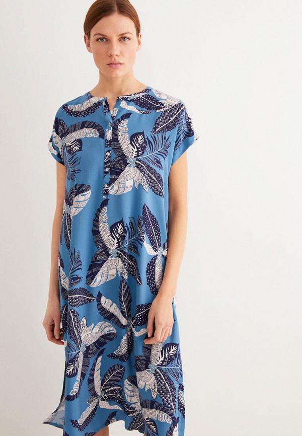 женское платье women'secret, голубое