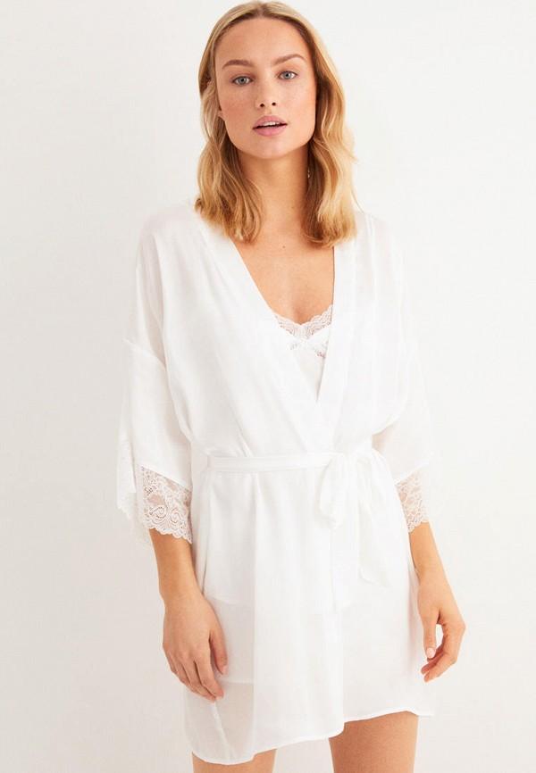 женский халат women'secret, белый