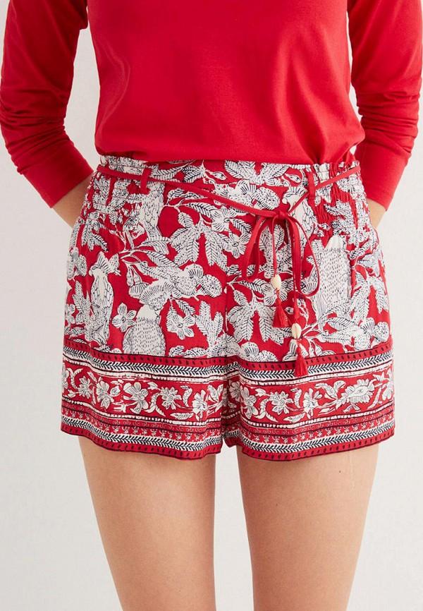 женские шорты women'secret, красные