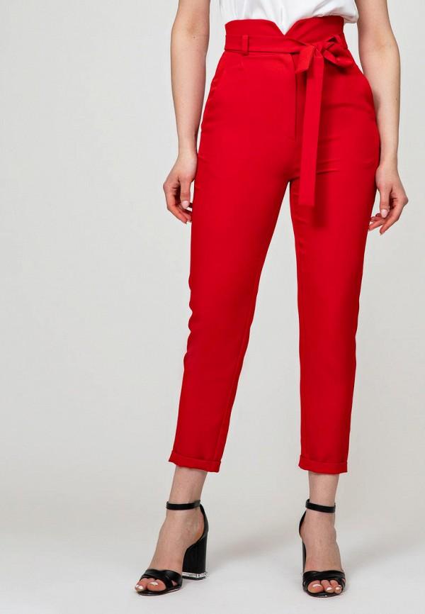 женские повседневные брюки itelle, красные