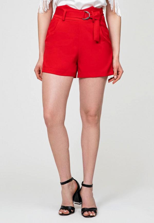 женские повседневные шорты itelle, красные