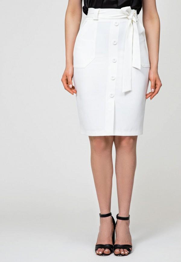 женская прямые юбка itelle, белая