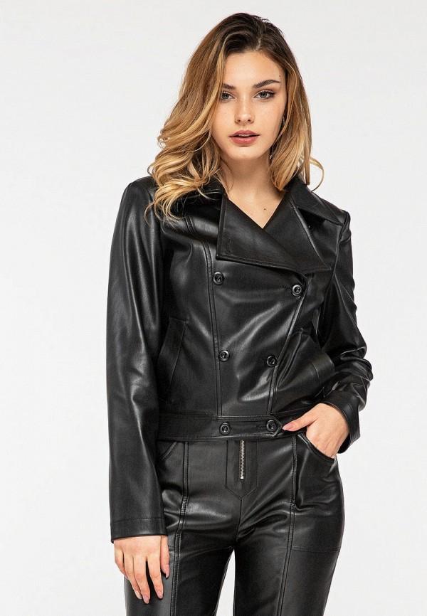 женская куртка itelle, черная