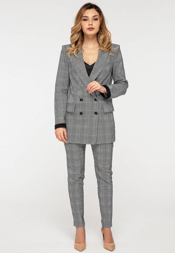 женский костюм itelle, серый