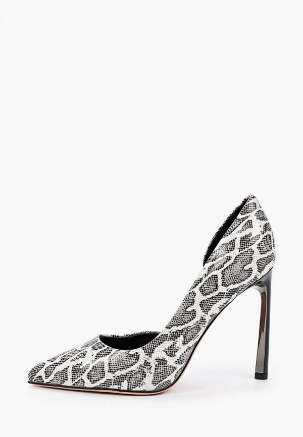 женские туфли-лодочки vitacci, серые