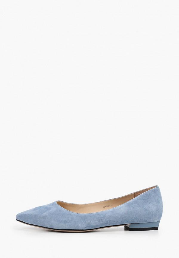 женские туфли с закрытым носом vitacci, голубые