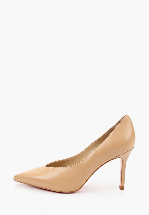 женские туфли-лодочки vitacci, бежевые