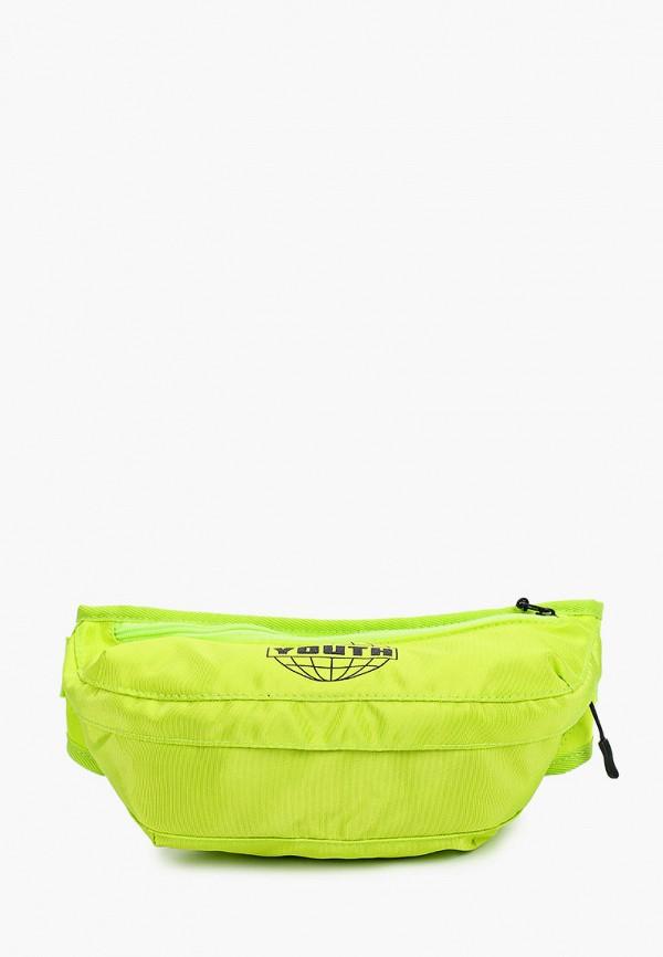 женская поясные сумка befree, зеленая