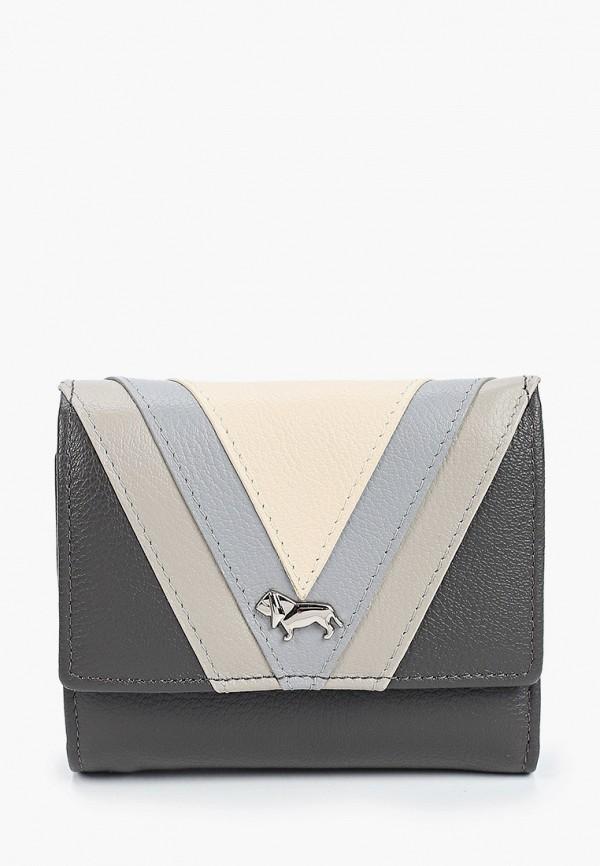женский кошелёк labbra, серый