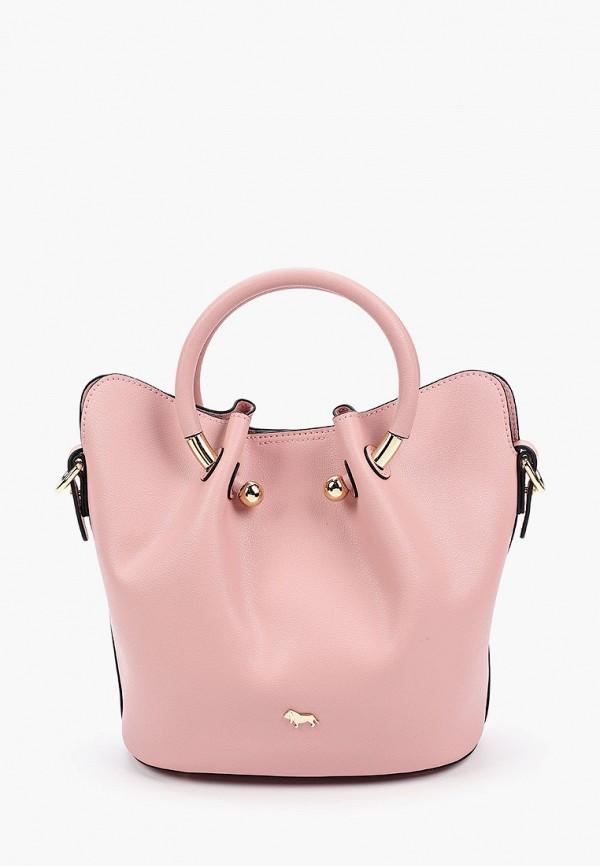 женская сумка с ручками labbra, розовая