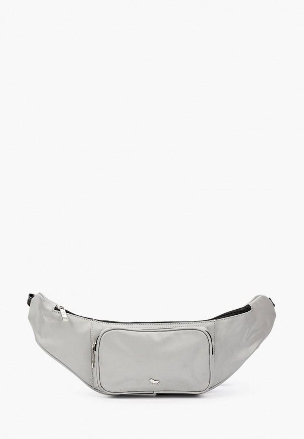женская поясные сумка labbra, серая
