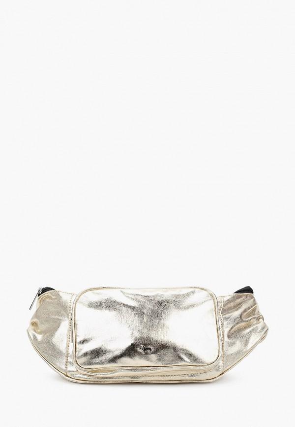 женская поясные сумка labbra, золотая