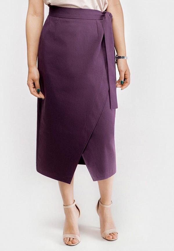 женская юбка true colors, фиолетовая