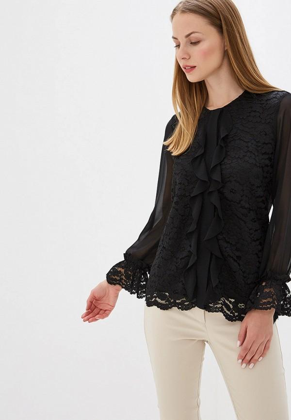 Блуза Perspective цвет черный